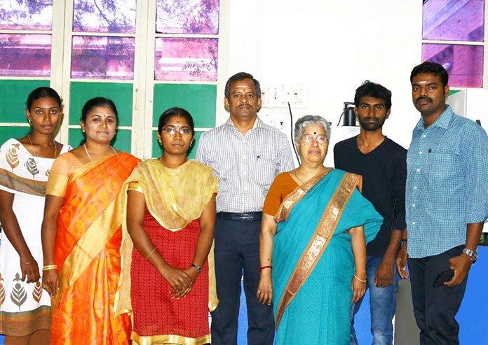 Members of the research team TNAU