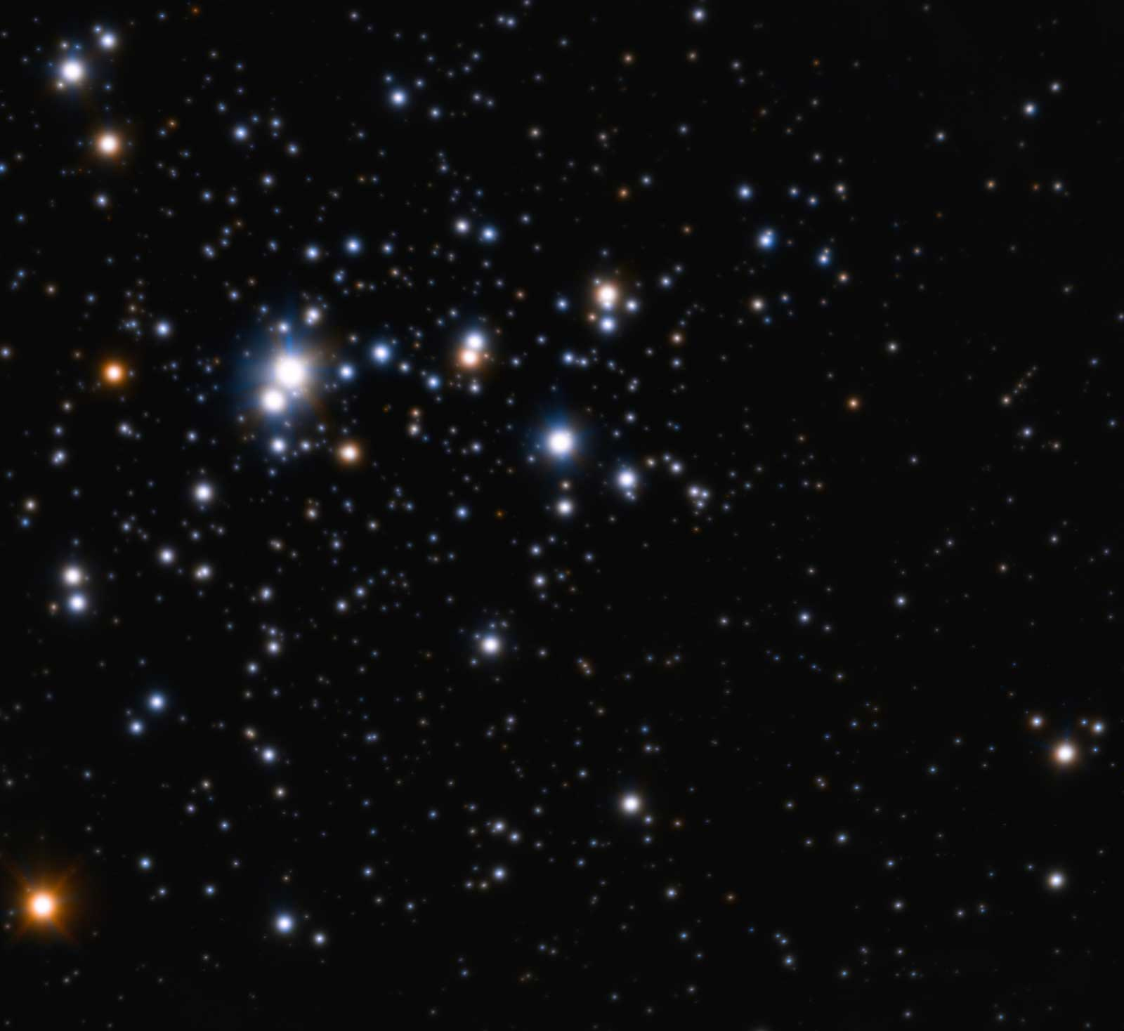 Open star cluster Trumpler 14, a cluster with more than two thousand stars, similar to the one where the Sun was born. Credit: ESO/H. Sana