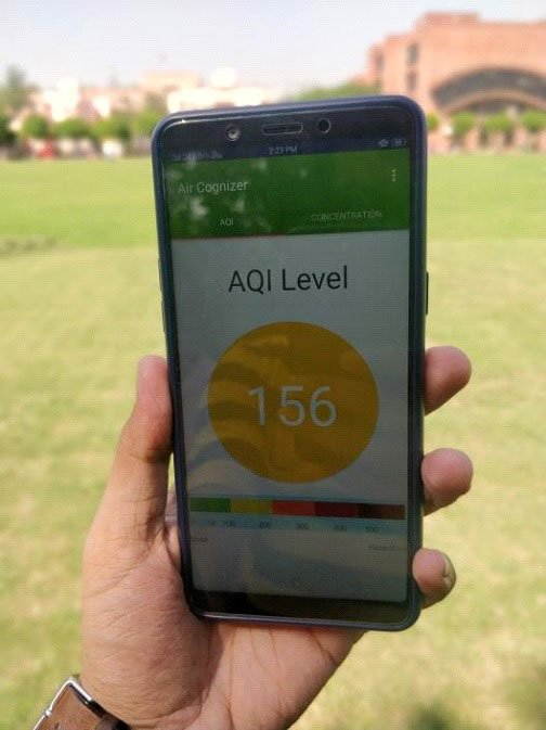 Use your phone camera for real-time pollution check