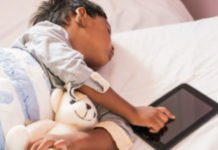 Screen-time has little impact on children's sleep, according to new Oxford University research