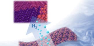 Two-dimensional metal carbides spark a reaction that splits water into oxygen and valuable hydrogen gas. Berkeley researchers have discovered an easy new recipe for cooking up these nanometer-thin sheets that is nearly as simple as making Jell-O from a box. (Xining Zang graphic, copyright Wiley)