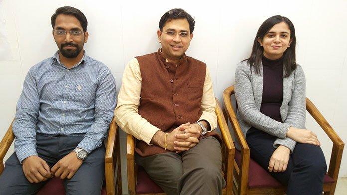Dr. Ajeet, Dr. Kabir Sardana and Dr. Ananta Khurana