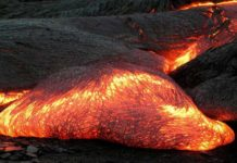 Scientists created Lava and blow it up to better understand volcanoes