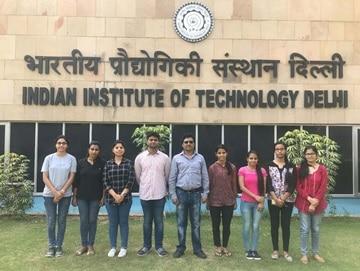Research team at IIT Delhi