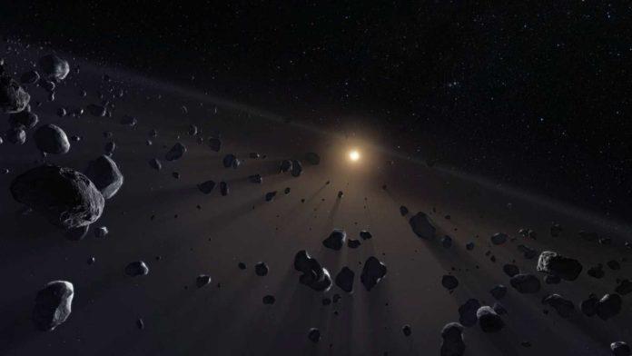 Kuiper Belt's ice cores Credit: ESO/M. Kornmesser