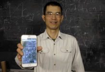 Ying Cai says his cloaking technology can conceal your precise location when using apps on your mobile phone. Photo courtesy of Dave Olson