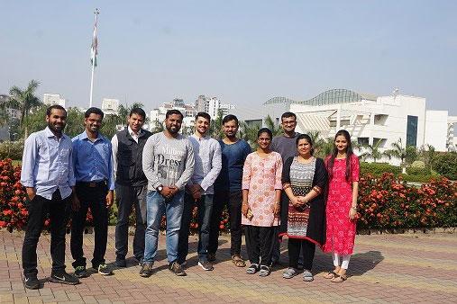 (From left to right) : Ajay Kumar Sharma, Ravikumar Govindan, Harinath Chakrapani, Amol Mhetre, Neelay Mehendale, Shubham Singh, Abinaya Rajendran, Siddhesh Kamat, Dhanashree Kelkar, Alaumy Joshi.