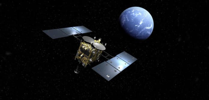 """Asteroid Explorer """"Hayabusa2"""" clarifies the origin and evolution of solar system as well as life matter. It will be establishing deep space exploration technology and new challenges."""