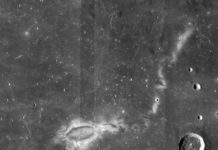 Research using data from NASA's ARTEMIS mission suggests that lunar swirls, like the Reiner Gamma lunar swirl imaged here by NASA's Lunar Reconnaissance Orbiter, could be the result of solar wind interactions with the Moon's isolated pockets of magnetic field. Credits: NASA LRO WAC science team