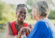 Researchers at The University of Texas at Austin have found that older adults who spend more time interacting with a wide range of people were more likely to be physically active and had greater emotional well-being. CREDIT University of Texas at Austin