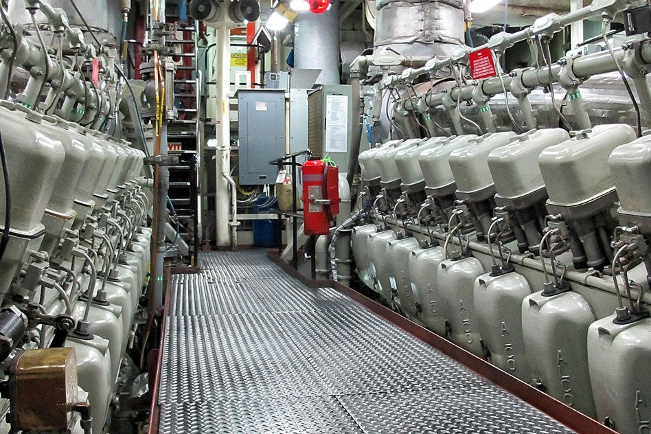 An overview of the Coast Guard cutter Spencer, where the MIT-developed Dashboard spotted problems that could have led to an electrical fire, in time to avert the danger.