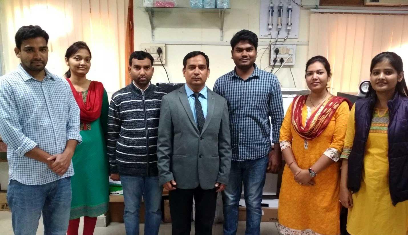 Members of research team at BHU
