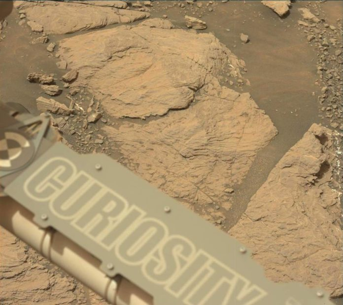 NASA's Curiosity Mars took this image with its Mastcam on Feb. 10, 2019 (Sol 2316). The rover is currently exploring a region of Mount Sharp nicknamed