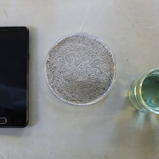 Scientists blended smartphone to reveal what's inside