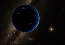 An artist's rendition of Planet X. NASA