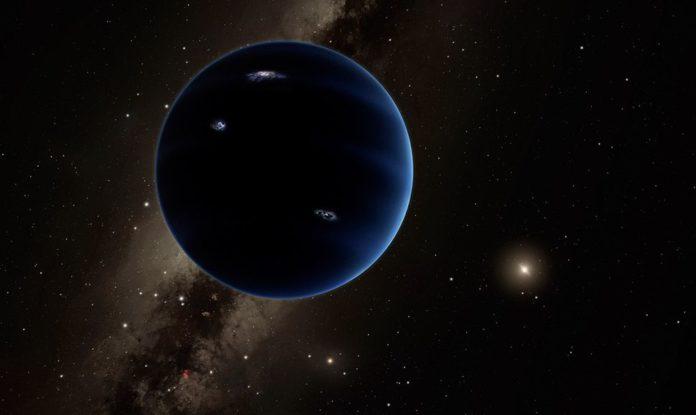 An artist's rendition of Planet X. NASA