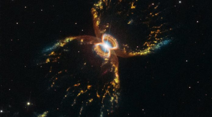 The Southern Crab Nebula — Hubble's 29th anniversary image.