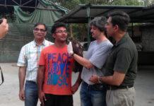 Prof. Q Qureshi, Nishant Kumar, Dr. Fabrizio Sergio and Prof. Y V Jhala).
