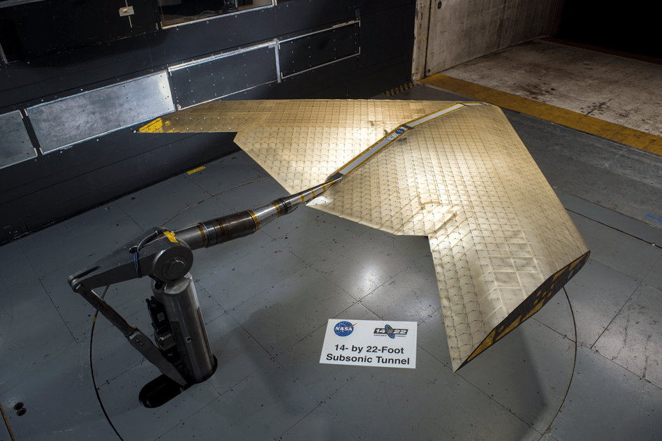 New way of fabricating aircraft wings could enable radical new designs, such as this concept, which could be more efficient for some applications
