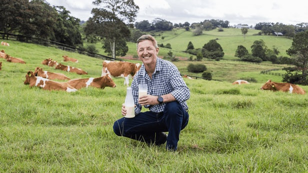 CEO of Naturo Jeff Hastings claims his process is the biggest breakthrough in the global milk industry since pasteurization
