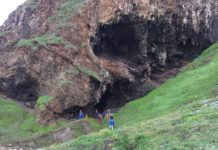 The Klasies River cave in the southern Cape of South Africa. Credit: Wits University