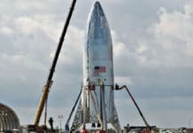SpaceX orbital Starship prototype