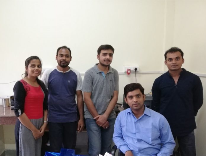 The research team at BHU