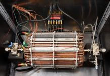 A calorimeter designed by UBC researchers that is capable of detecting anomalous heat at high temperatures and high pressures. Photo credit: Phil Schauer