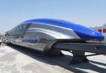 China has unveiled the prototype for its sleek new magnetic levitation (maglev) train.