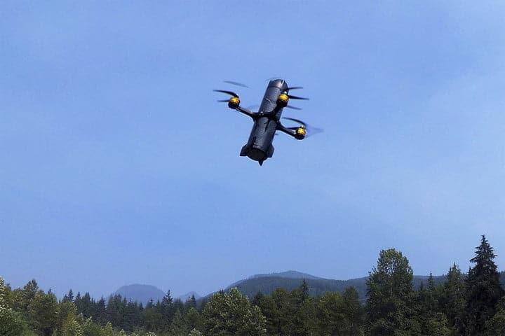 A kamikaze drone missile/ Image: AerialX