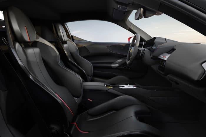 Plug-in hybrid's interior design