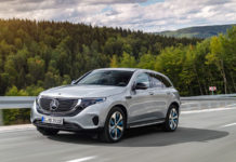 The 2020 Mercedes-Benz EQC400