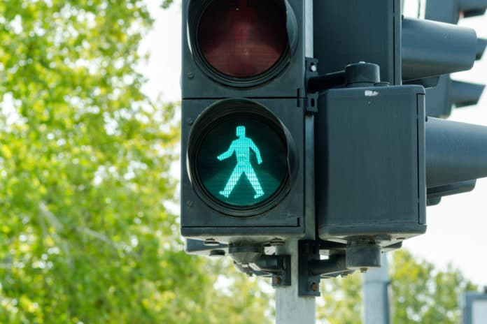 The pedestrian traffic light system