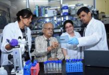Vidita Vaidya, Ashok Vaidya, Sashaina Fanibunda and Ullas Kolthur-Seetharam (L to R)
