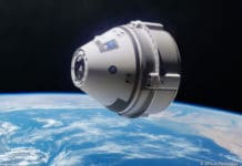 Artist's concept of the CST-100 Starliner/ Image: Boeing