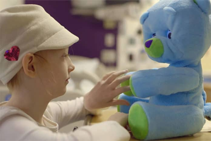 Social robots can benefit hospitalized children