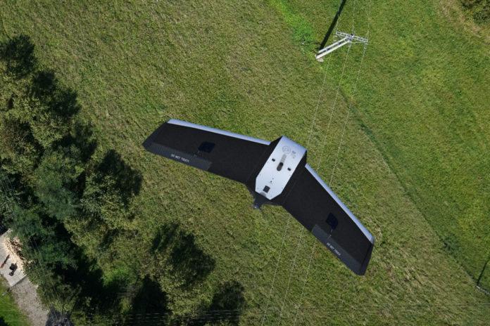 FlyTech's BIRDIE Drone/ Image: FlyTech