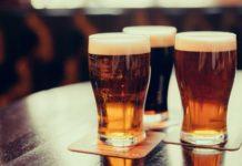 3 glasses of beer