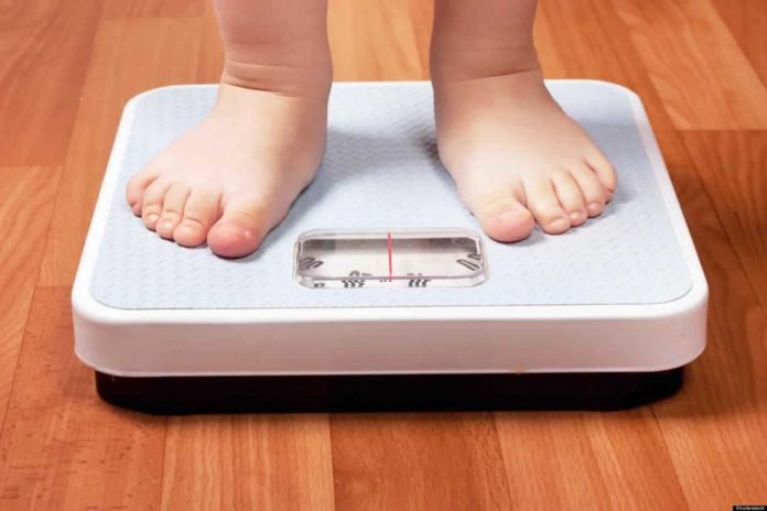 Higher weight in young children increase the risk of higher blood pressure