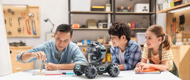 is it is aimed primarily at children to learn coding/ Image: DJI