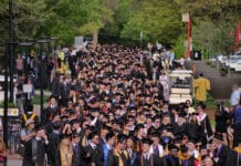 CU Boulder graduation