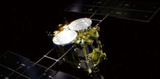 Hayabusa2 probe successfully collects first samples from Ryugu asteroid