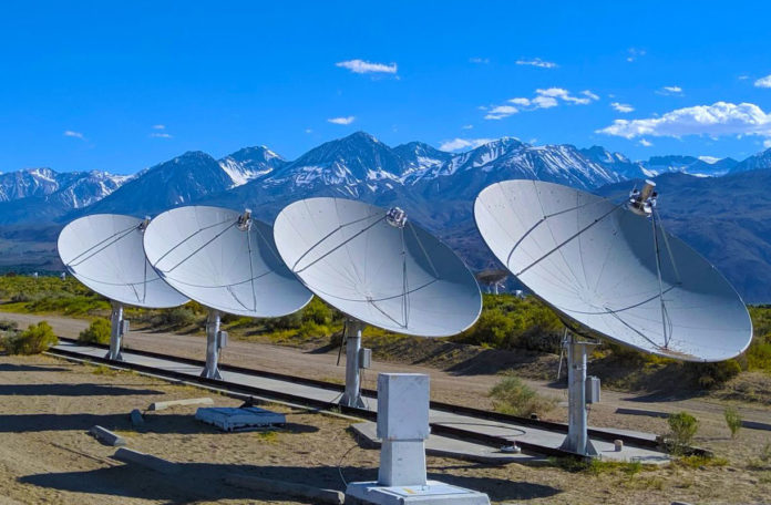 Owens Valley Radio Observatory. Credit: Caltech/OVRO/Gregg Hallinan