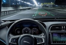 Cambridge researchers and Jaguar Land Rover develop immersive 3D head-up display for in-car use. Image Credit: University of Cambridge