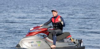 WaveFlyer: World's first electric hydrofoil jet ski