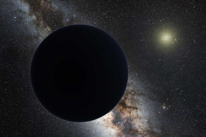 Planet Nine may be a primordial black hole