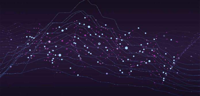 Quantum machine learning illustration