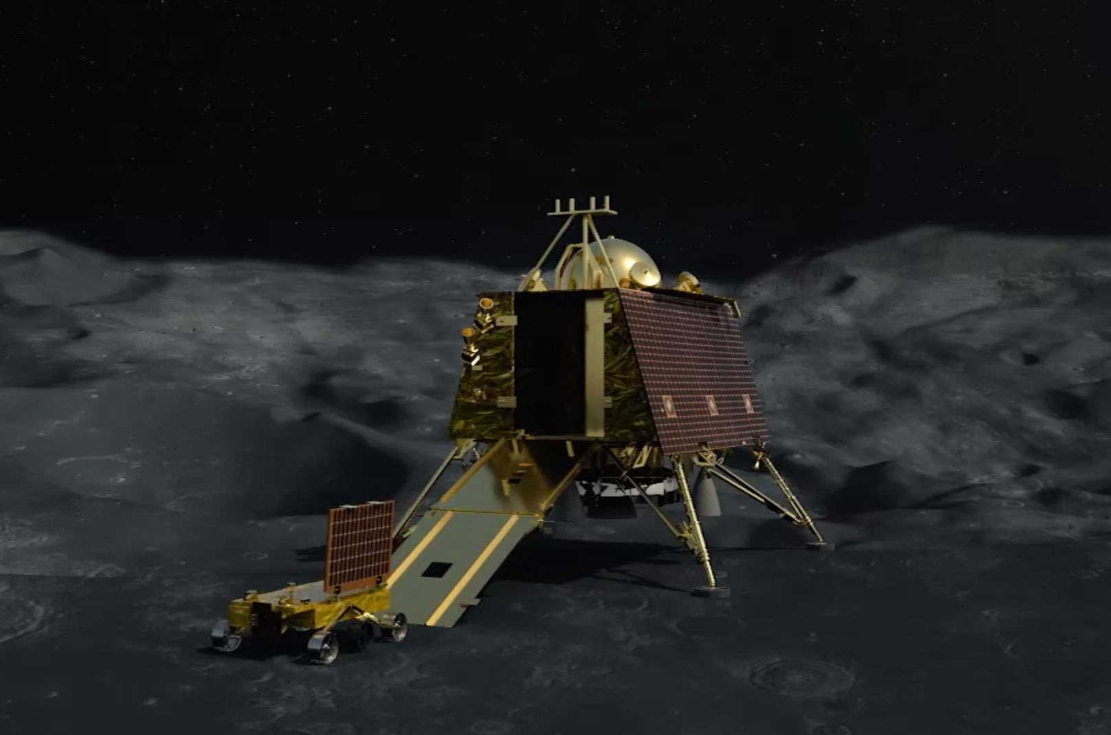 Nasa Releases High Resolution Images Of Chandrayaan 2