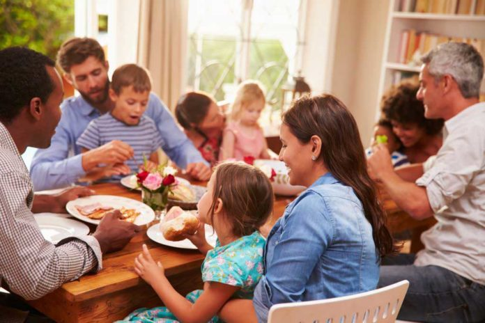 People eat more with friends and family, study
