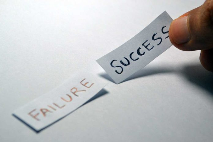 A causal relationship between failure and future success